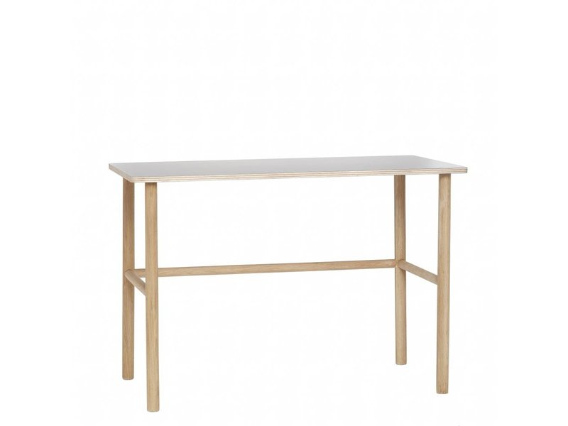 Office Wood With Gray Tabletop