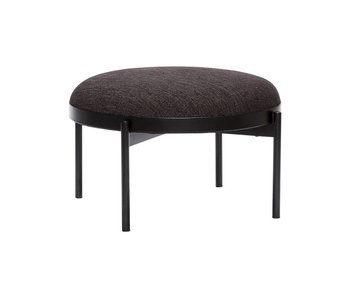 Hubsch Pouf around black
