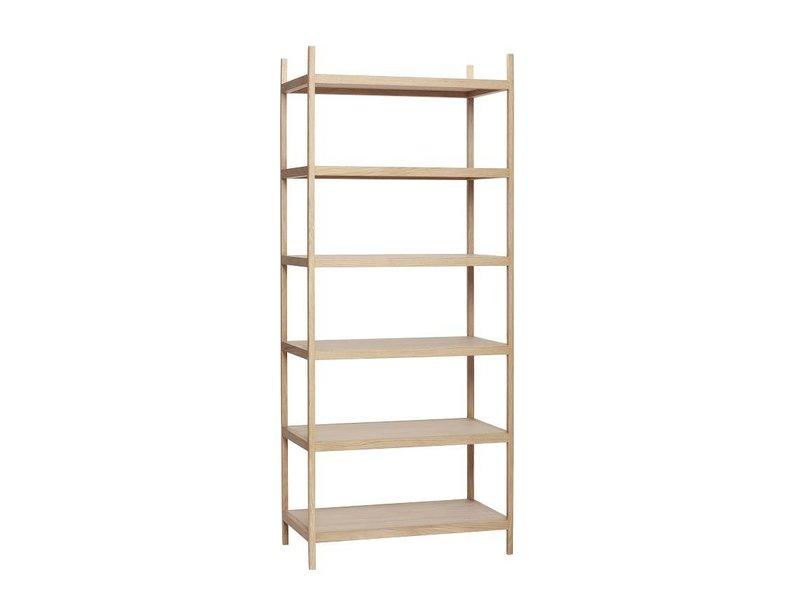 Hubsch Storage Cabinet Wood With 6 Shelves
