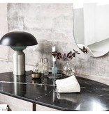 House Doctor Eda skrivbord svart marmor