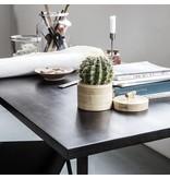 House Doctor Slated bord svart
