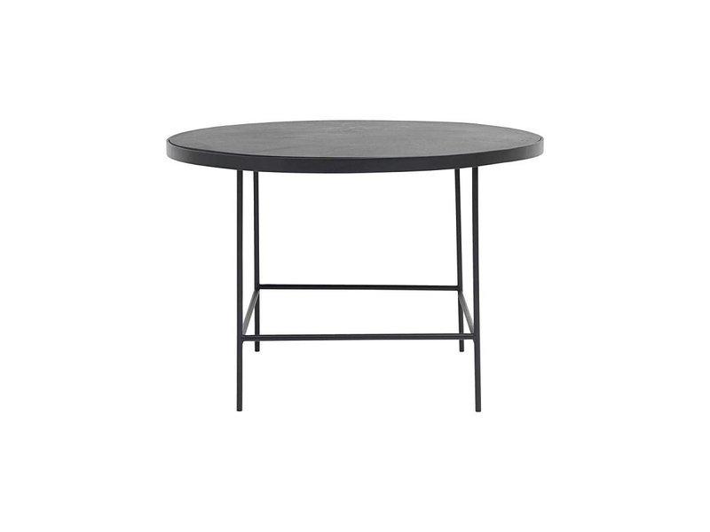 House Doctor Balance salontafel zwart ø70cm