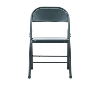 House Doctor Fold It folding chair gray metal - set of 6 pieces