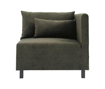 House Doctor Casa 10 sofa fløyelgrønn
