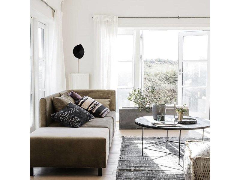 House Doctor Casa 10 soffa sammet beige
