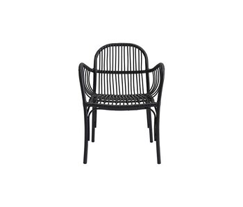 House Doctor Brea chair black