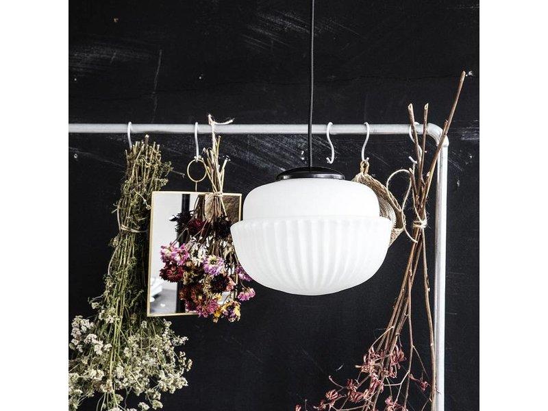 House Doctor Acorn hängande lampa vitt glas Ø29cm