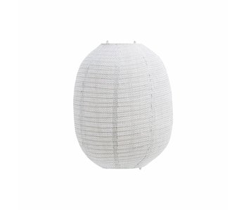 House Doctor Stitch lampshade broken white
