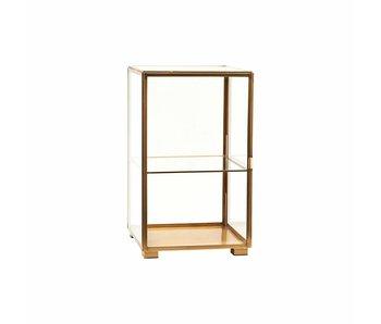 House Doctor Mueble de vidrio de latón