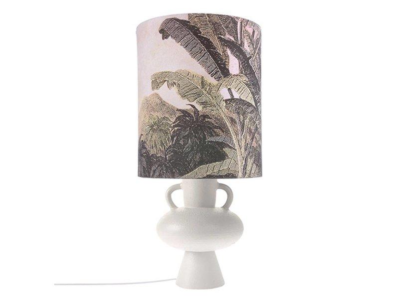 HK-Living Lampa bas vit keramik 24x24x38cm