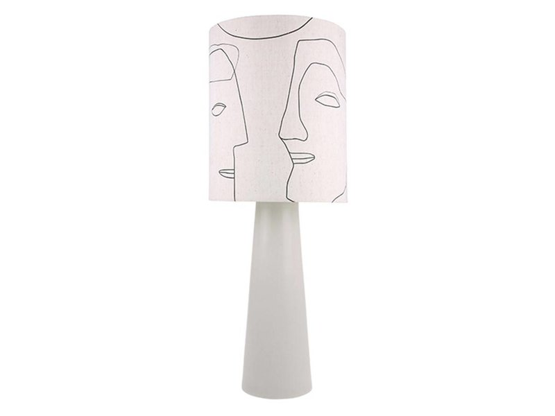 HK-Living Lampshade faces 36x36x42cm
