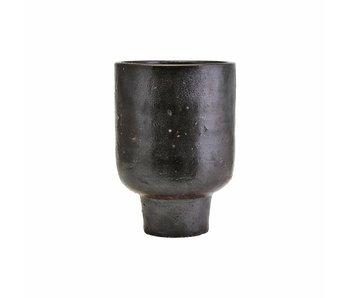 House Doctor Artist flowerpot black Ø22cm