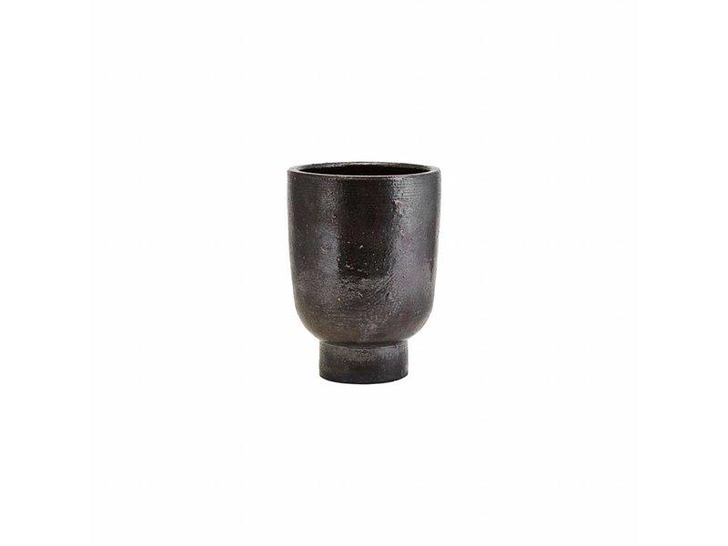 House Doctor Artist flowerpot black Ø15cm