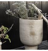 House Doctor Konstnär blomkruka beige Ø22cm