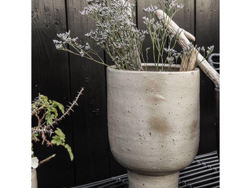 House Doctor Artist flowerpot beige Ø22cm