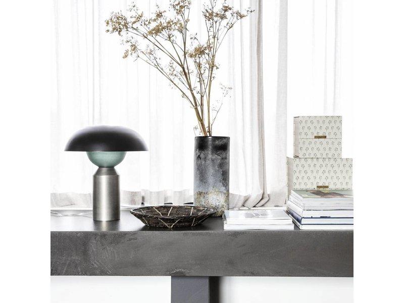 House Doctor Rock vase glass Ø14cm