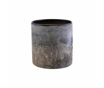 House Doctor Rock Vase Glas Ø20cm