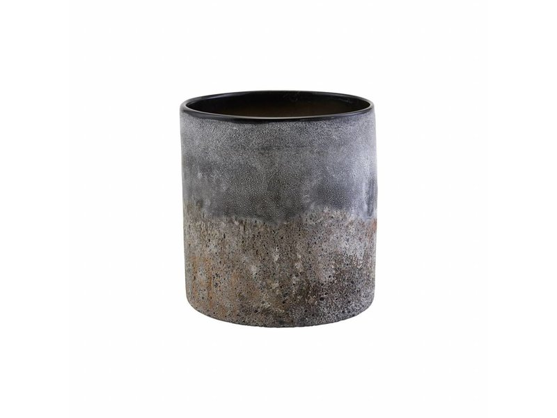 House Doctor Rock vase glass Ø20cm