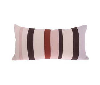 HK-Living Pillow striped linen 35x70cm