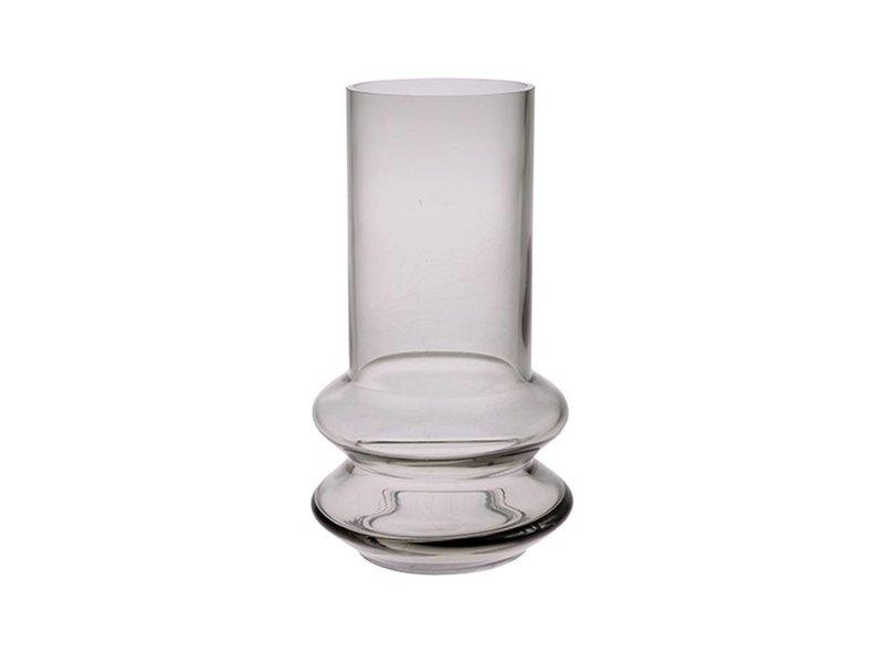 HK-Living Bloemenvaas glas grijs