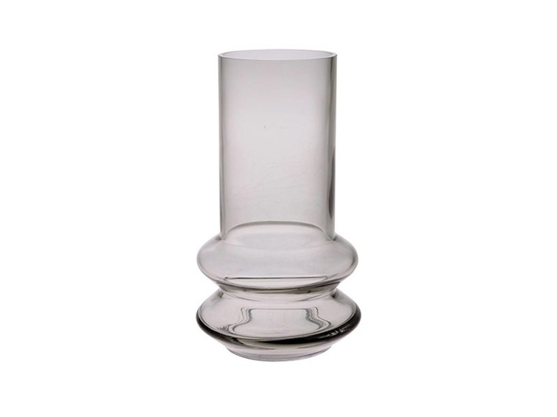 HK-Living Blomstervase glas grå