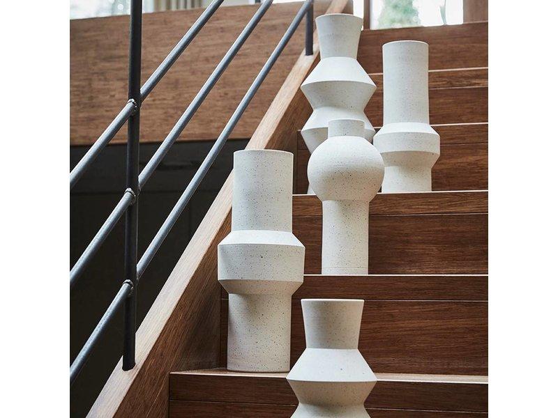 HK-Living Vase speckled clay