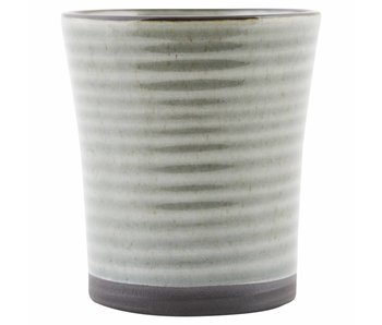 House Doctor Tasse à café couleur 9 gris - lot de 6