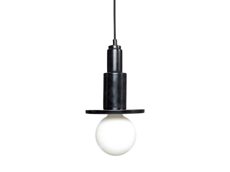 Hubsch Hanglamp zwart marmer