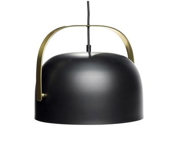 Hubsch Pendant light black metal brass