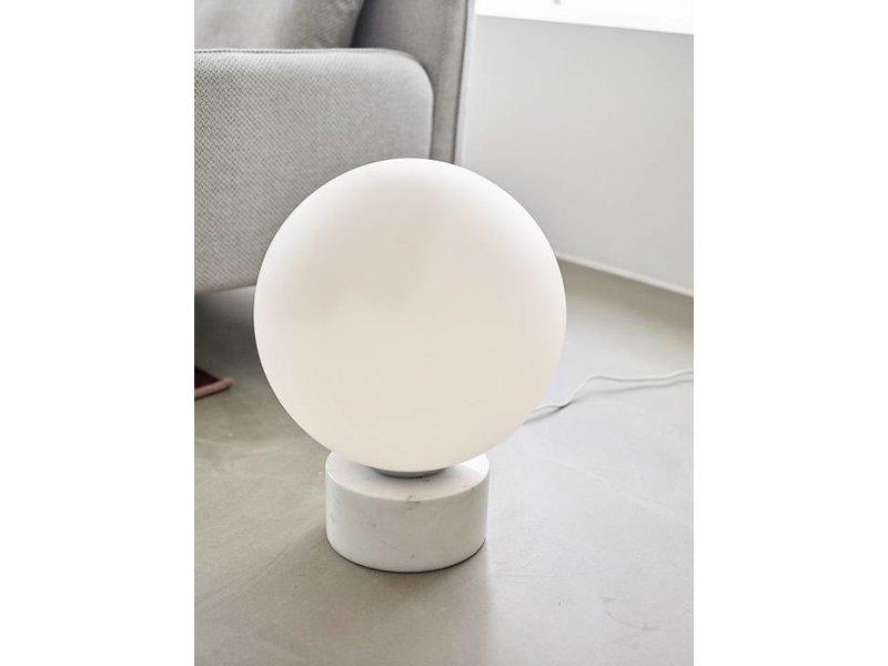 Hubsch Golvlampor marmorglas