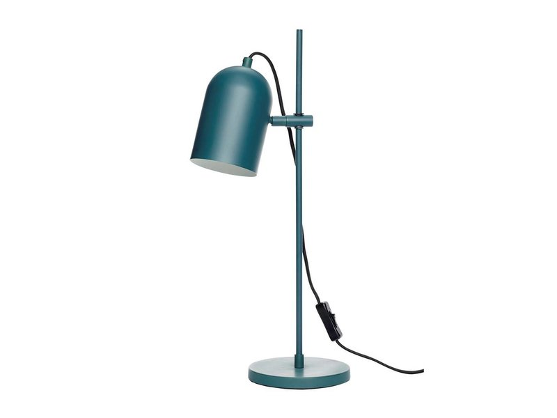 Hubsch Bordslampa grön metall