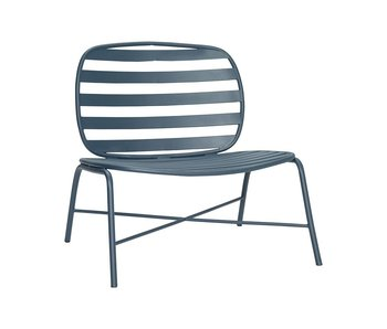 Hubsch Chaise longue metal verde
