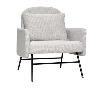 Hubsch Armchair light gray