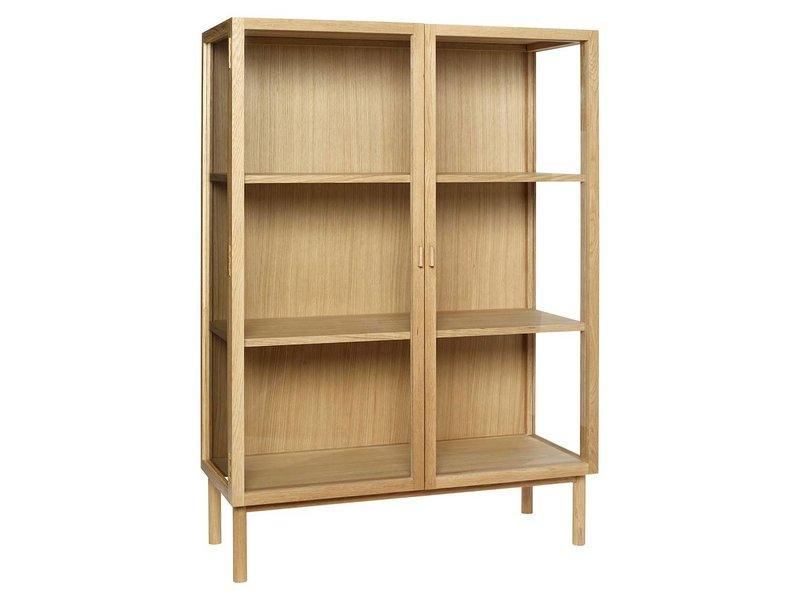 Wooden Display Cabinet With Doors