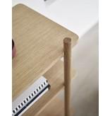 Hubsch Opbergkast hout met 3 planken