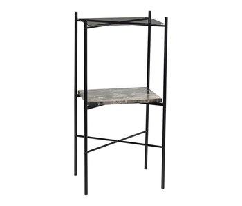 Hubsch Tavolino grigio metallo - Copy