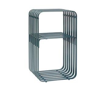 Hubsch Table d'appoint en métal vert