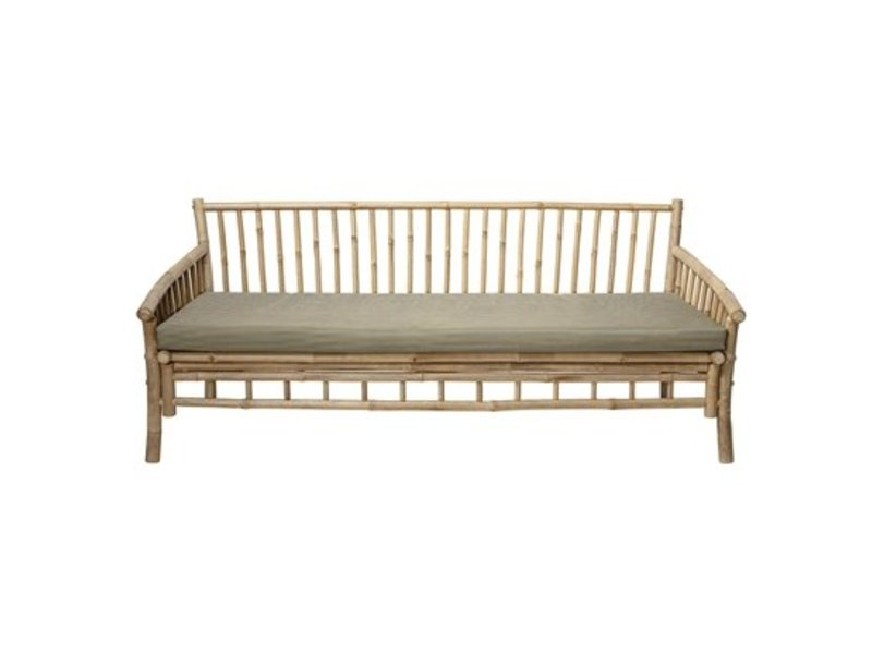 Tidsmæssigt Bloomingville Sole outdoor sofa natural bamboo - LIVING AND CO. ZF-06