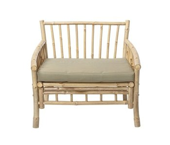 Bloomingville Sole lounge chair natural bamboo