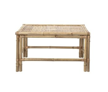 Bloomingville Table basse Sole en bambou naturel