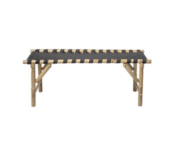 Bloomingville Vida bench natural bamboo