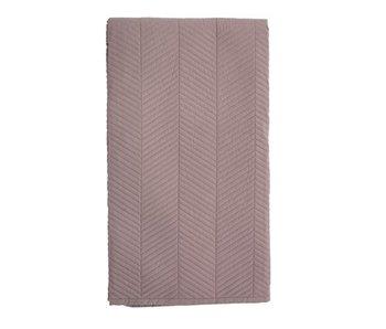 Bloomingville Plaid pink 200x140cm