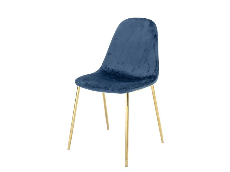 Bloomingville Em spisestue stol blå