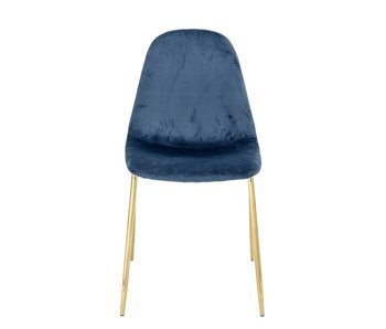Bloomingville Em dining room chair blue