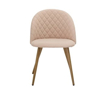 Bloomingville Vapor dining chair pink