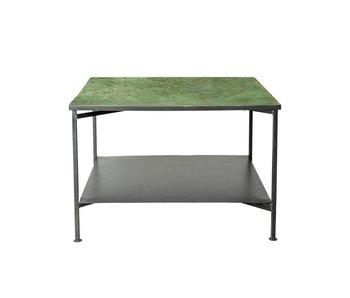 Bloomingville Bene tavolino in metallo verde