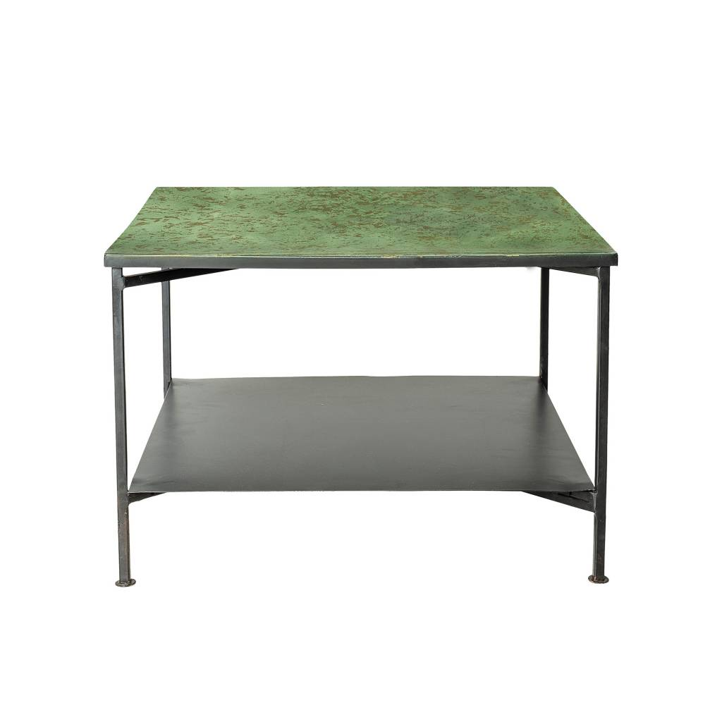 - Bloomingville Bene Coffee Table Green Metal - LIVING AND CO.