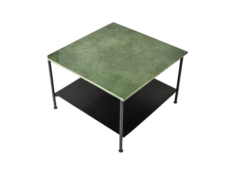 Bloomingville Bene soffbord grön metall