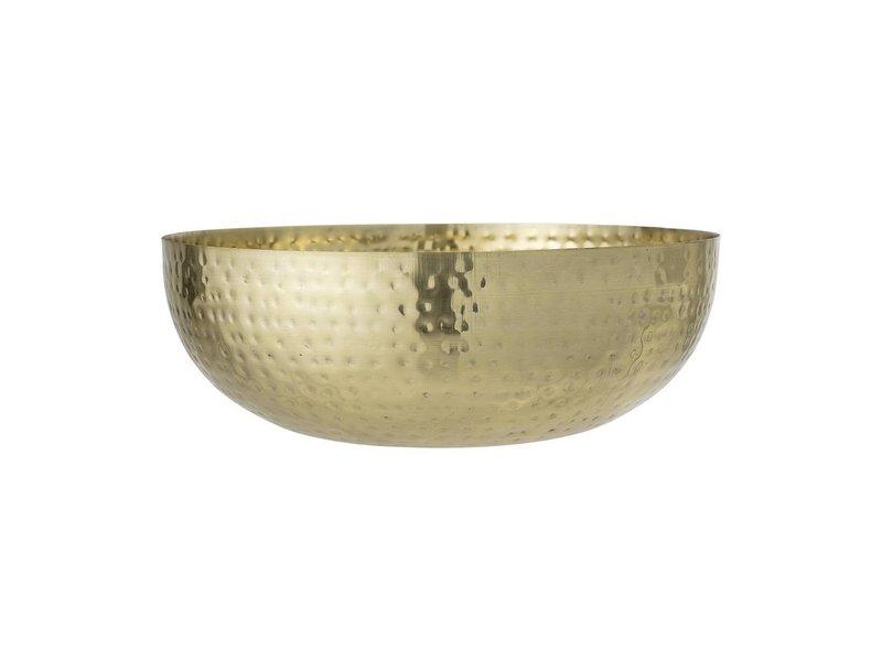 Bloomingville Schaal goud aluminium