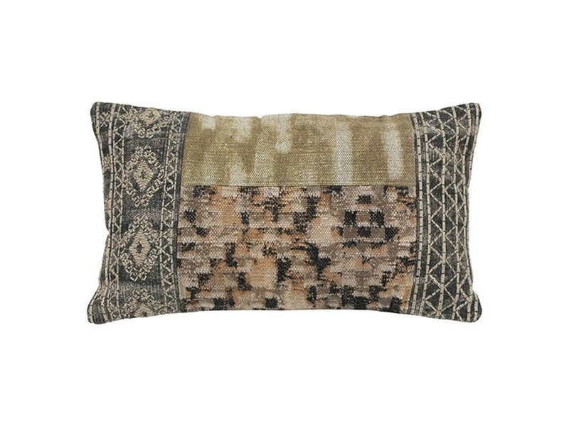HK-Living Pillow patched 40x70cm